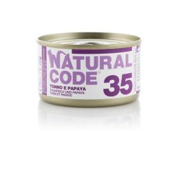 Natural Code Cat boite N°35 Thon et Papaye 85gr