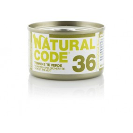 Natural Code Cat boite N°36 Thon et Thé Vert 85gr