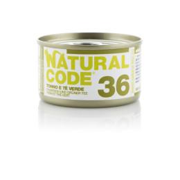 Natural Code Cat box No. 36 Tuna and Green Tea 85gr