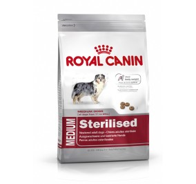 Royal Canin dog SIZE N medium Sterilised  3kg