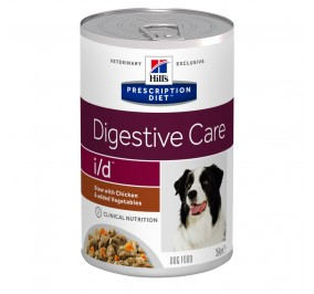 Prescription Diet™ i/d™ Canine Simmered chicken, vegetables in a box 12x354g