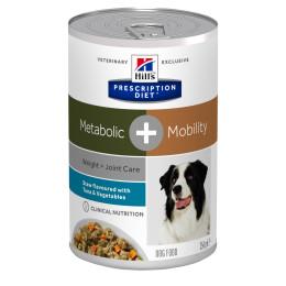 Prescription Diet™ Metabolic + Mobility Boite Mijoté Thon Legume 12x354gr
