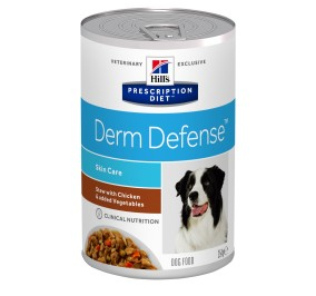 Prescription Diet™ Derm Defense™ Canine Simmered Chicken Vegetables 12x354gr
