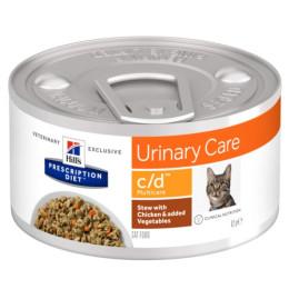 Prescription Diet™ c/d ™ Multicare Box Stewed Chicken Vegetables 24x82gr