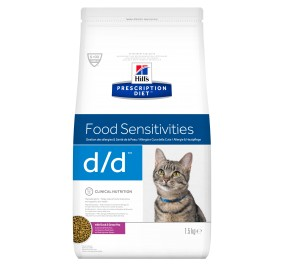 Prescription Diet™ Feline d/d™ Canard & Green Peas 1.5kg