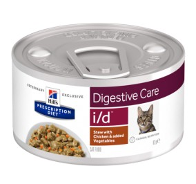 Prescription Diet™ d/d™ Feline Venison in a box 24x156gr