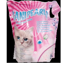 Litière chat Sanipearls 2x16l