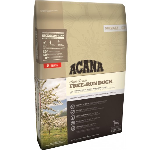 ACANA dog SINGLES Free Run Duck   2kg
