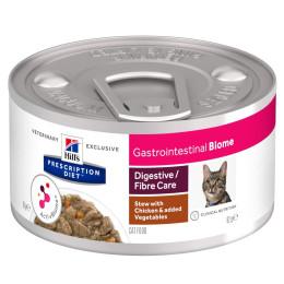 Prescription Diet™ GI Biome Feline mijoté au poulet et legumes 24x82gr