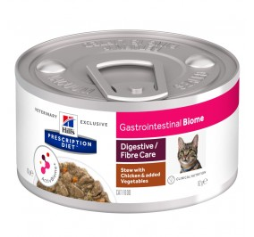 Prescription Diet™ GI Biome Feline stewed with chicken and vegetables 24x82gr