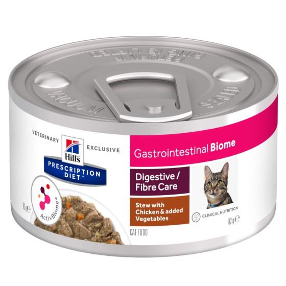 Prescription Diet™ GI Biome Feline simmered the chicken and vegetables 24x82gr