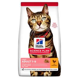 Hill's feline adult light chicken 10kg (Period 2-5 days)