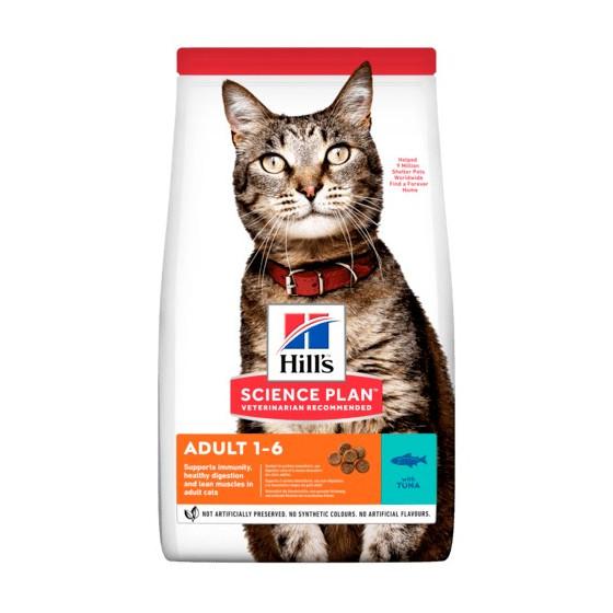Hill's feline adult tuna 10kg (Period 2-5 days)