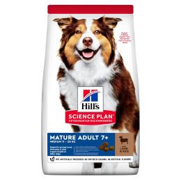 Hill's canine Senior agneau et riz 14kg