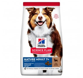 Hill's canine Senior lamb and rice 14kg