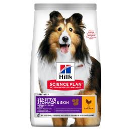 Hill's canine adulte sensitive skin 2.5Kg