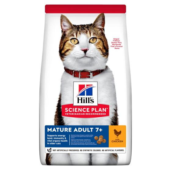 Hill's feline Senior poulet 10kg (Delai 2 a 5 jours)