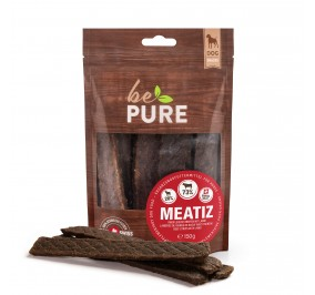 BePure Dog Meatiz a Strip of Beef and Lamb 150gm
