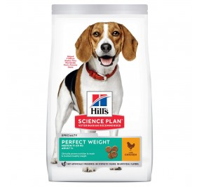 Hill's canine Perfect Weight Adult Medium 12kg