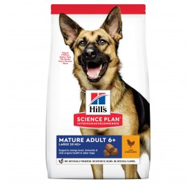 Hill's canine senior large breed 14kg