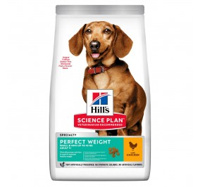 Hill's canine adulte mini Perfect Weight 1.5kg