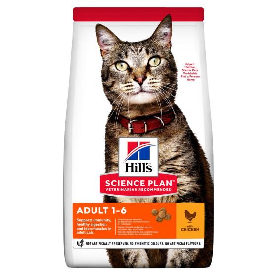 Hill's feline adult chicken-1.5 kg