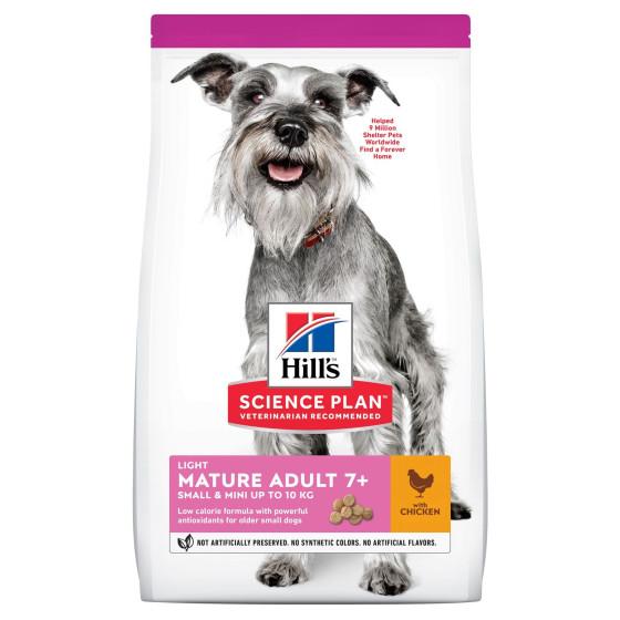 Hill's canine Senior Light Mini 2.5kg