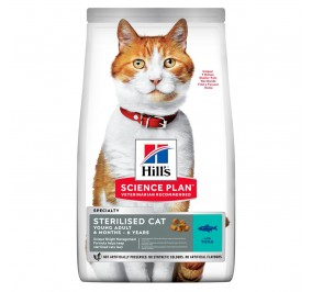 Hill's feline adulte sterilised thon 1,5Kg