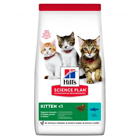 Hill's feline kitten thon 7kg (Delai 2 a 5 jours)