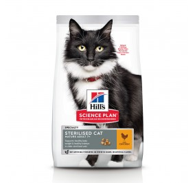 Hill's feline Mature Adult 7+ Sterilised poulet 1,5Kg
