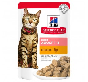 Hill's feline sachet Adult Light poulet 85g