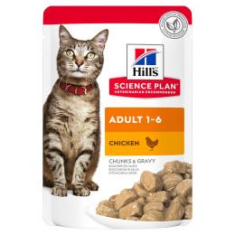 Hill's feline sachet Adult poulet 85g