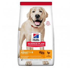 Hill's canine adulte Light Large Breed 14Kg