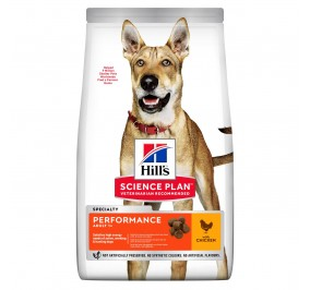 Hill's canine adult performance 14kg (Period 3-5 days)