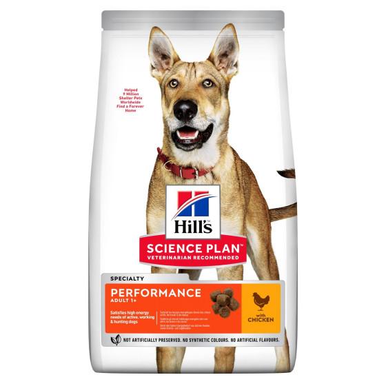 Hill's canine adulte performance 14kg (Delai 3 a 5 jours)