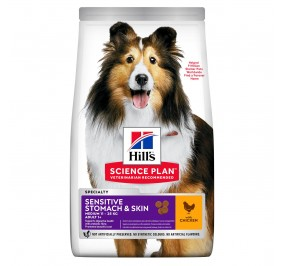 Hill's canine adulte sensitive Stomach & Skin 14kg