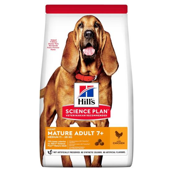 Hill's canine Senior light  2.5kg
