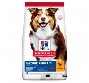 Hill's canine Senior Medium poulet  2.5kg