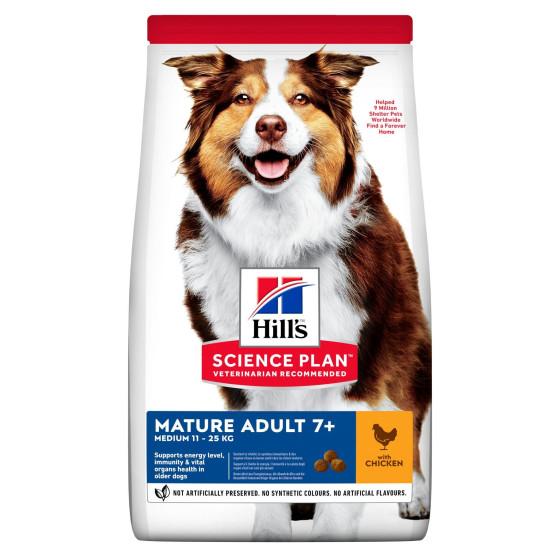 Hill's canine Senior Medium poulet  2.5kg