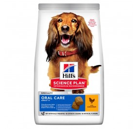 Hill's canine adulte oral care 12kg (Delai 3 a 5 jours)