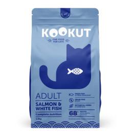 Kookut Cat Salmon & Fish Blc 1.5 kg