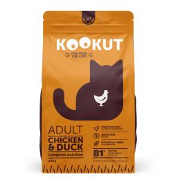 Kookut Cat Poulet & Canard 1.5kg