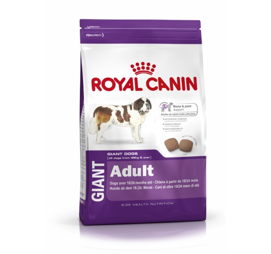 Food for dogs Royal Canin dog Giant adult 15kg