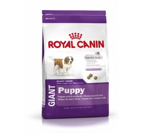 Royal Canin dog SIZE N giant puppy 15kg