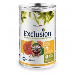 Exclusion MEDITERRANEO Monoprotein Adult all Breeds Beef 24x400gr