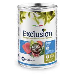 Exclusion MEDITERRANEO Monoprotein Adult All Breeds Tuna 24x400gr