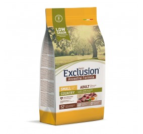 Exclusion ANCESTRAL LOWGRAIN Adult Small Country  2.5kg
