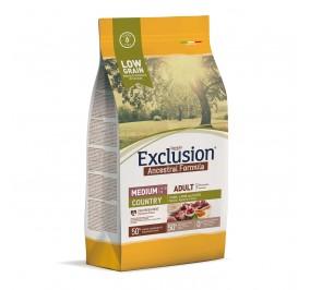 Exclusion Dog ANCESTRAL LOWGRAIN Adult Medi. COUNTRY 2.5 kg