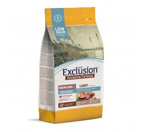 Exclusion Dog ANCESTRAL LOWGRAIN Adult Light Med/Large ORIGINAL 12kg