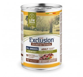 Exclusion Dog ANCESTRAL LOWGRAIN Adult All Breeds COUNTRY 24x400gr